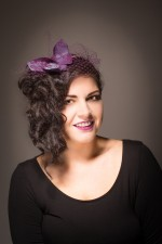 Butterfly Fascinator, Spring Summer Collection 2014